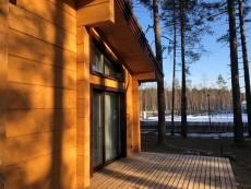 Больше всего деревянных домов выставлено в Подмосковье